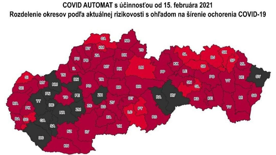 Covid automat - od 15.02.2021